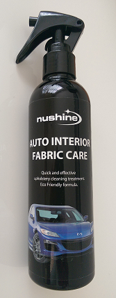 Nushine auto interior fabric care spray 250ml Fabric spray paint for car interior