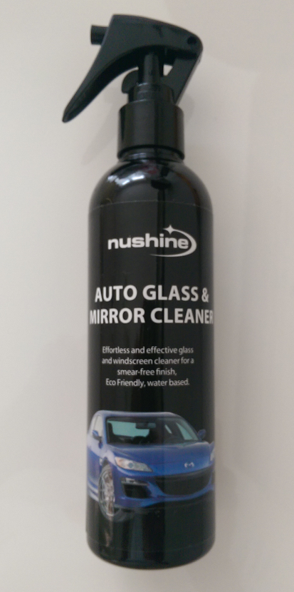 Nushine Auto Glass And Mirror Cleaner Spray