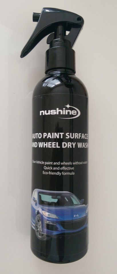 Nushine Auto Paint Surface and Wheel Dry Wash Spray 250ml